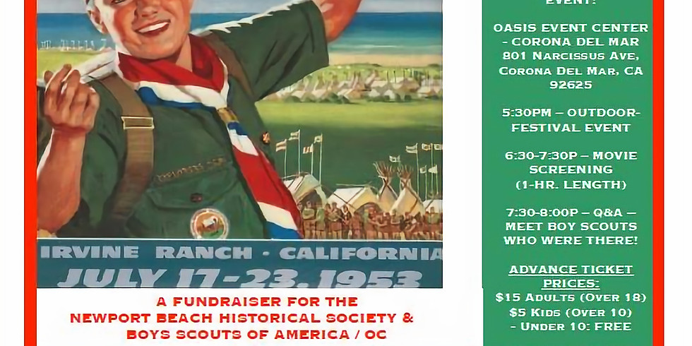 The 'lost' 1953 Boy Scout Jamboree Movie: Screening