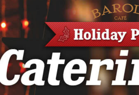 Spend The Holiday Season With Barolo Cafe