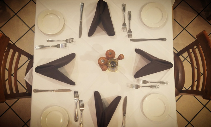 On-Site Event Table Setting