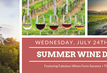 Don't Miss Our Delicious Summer Wine Dinner!