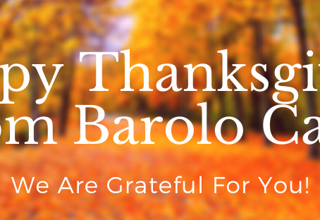 🍂 Happy Thanksgiving + Holiday Offerings From Barolo Cafe!