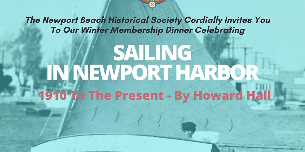 POSTPONED :: Sailing In Newport Harbor 1910-Present