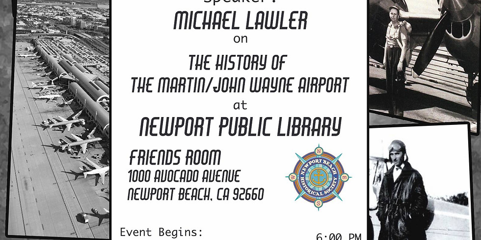 The History Of The Martin/John Wayne Airport