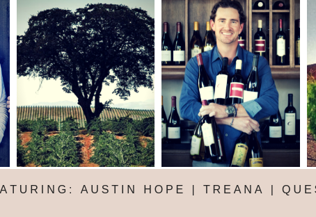 Don't Miss Our Debut 2019 January Wine Dinner Featuring Hope Family Wines - January 30th