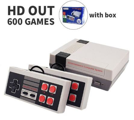 Mini TV Game Console 8 Bit Retro Video Game Console Built-In 620 Games