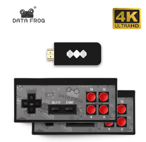 USB Wireless Handheld TV Video Game Console Build In 600 Classic Game