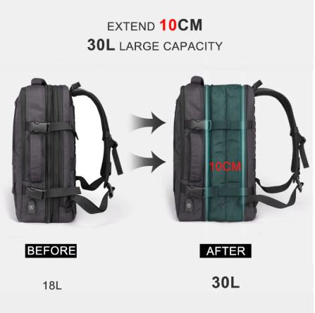Women/Men Travel Backpack Waterproof Anti Theft