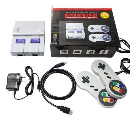 SUPER MINI NES Retro Classic Video Game Console TV Game Player Built-in 821