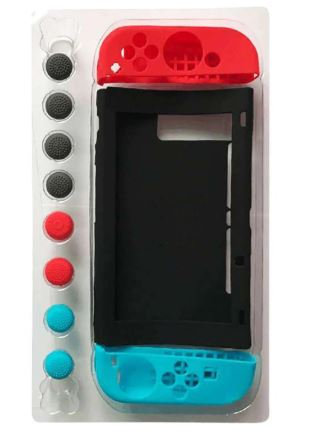 Switch 11-in-1 Set Switch Silicone Case Elevator Cap