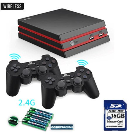 Game Console With 2.4G Wireless Controller HDMI Video Game Console