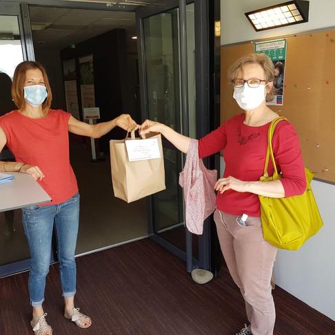 Le 4 et 5 juin, distribution de masques aux professionnels de santé