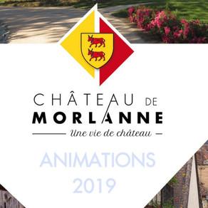 Démarrage de saison  au  Château de Morlanne !