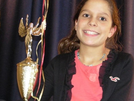 Morristown, New Jersey, fifth-grader Callie Sundin wins investment prize