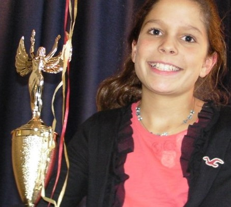 Morristown, New Jersey, fifth-grader Callie Sundin wins investment prize
