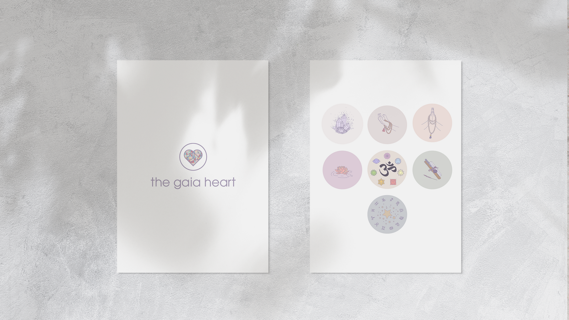 Gaia heart icons