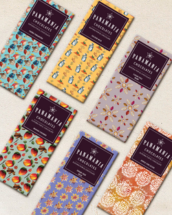Pattern and Package Design | Panamania Chocolates