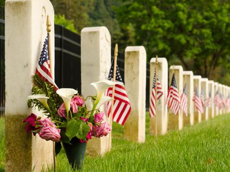 Memorial Day Weekend, American Heroes & Thanks