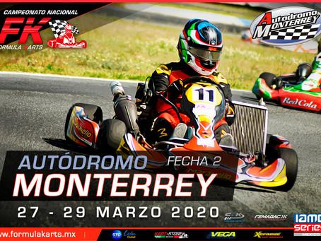 Convocatoria Nacional Fórmula Karts 2020 Fecha 2