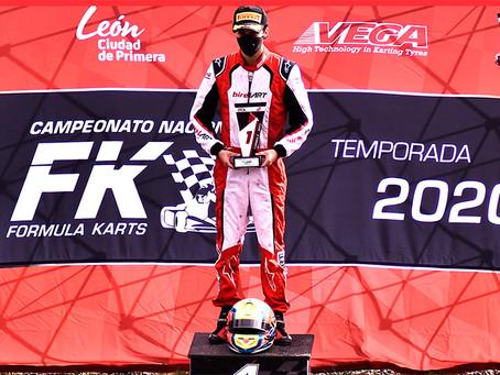 Rangel ganó en KBR y aprieta el campeonato con Ricardo González