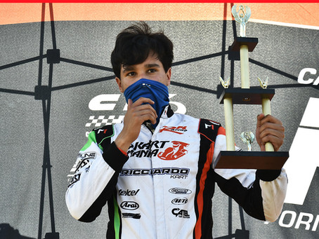 Emiliano Richards se coronó campeón de X30 Senior