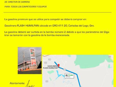 Boletín Gasolina: gasolinera y bomba oficial