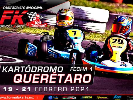 Convocatoria Nacional Fórmula Karts 2021 Fecha 1