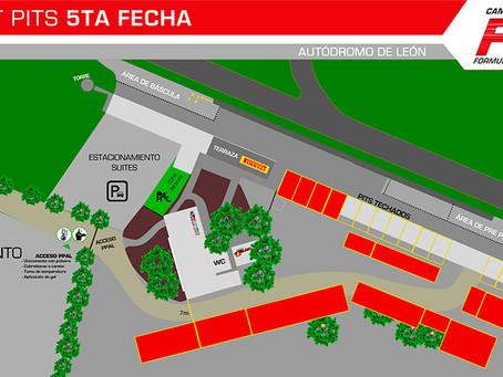 Zona de pits Fecha 4 Final Fórmula Karts 2020