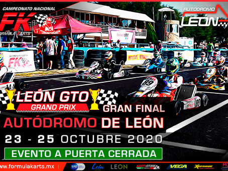 Convocatoria Nacional Fórmula Karts 2020 Gran Final