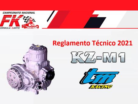 Listo Reglamento Técnico KZ-M1 by TM