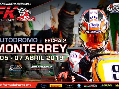 Convocatoria Nacional Fórmula Karts 2019 Fecha 2