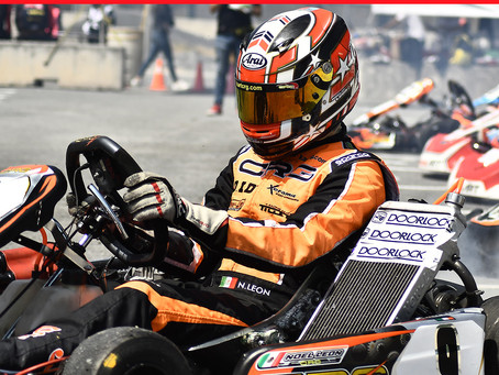 Noel León dominando la motorización KZ-M1 en KZ1