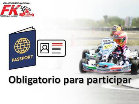 Identificación oficial obligatoria para participar