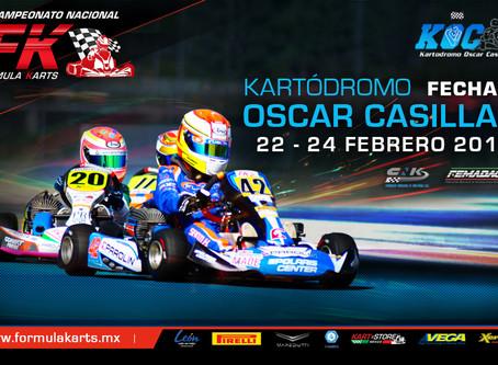 Convocatoria Nacional Fórmula Karts 2019 Fecha 1