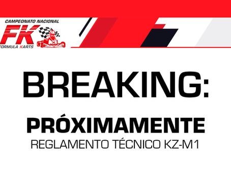 Reglamento Técnico KZ-M1 by TM en proceso