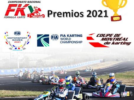 Premios Fórmula Karts Temporada 2021