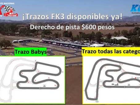 Trazos para la fecha 3 de Fórmula Karts ya disponibles