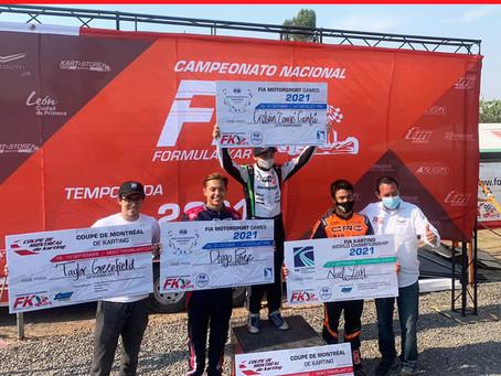 Pilotos ganadores para competir en el extranjero
