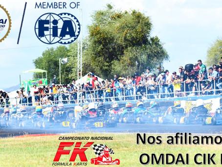 FK: Nos afiliamos a OMDAI CIK FIA