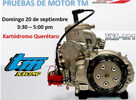 Pruebas de Motor TM en Kartódromo Querétaro