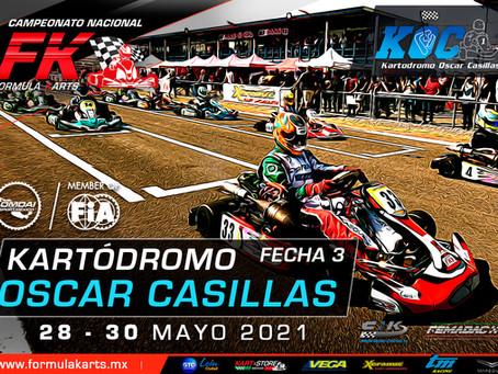 Convocatoria Nacional Fórmula Karts 2021 Fecha 3