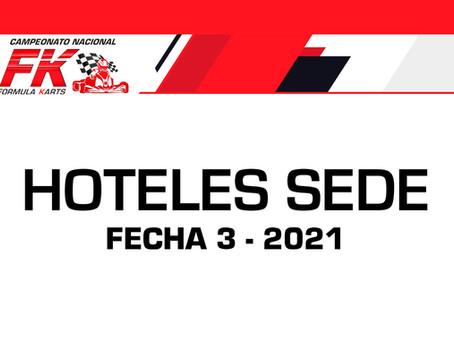 Hoteles sede Guadalajara - Fecha 3 Fórmula Karts 2021