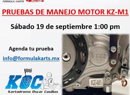 Pruebas de motor TM en Kartódromo Oscar Casillas
