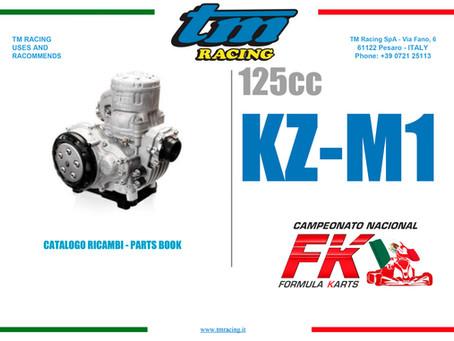 Motor KZ-M1 by TM lista de partes y refacciones