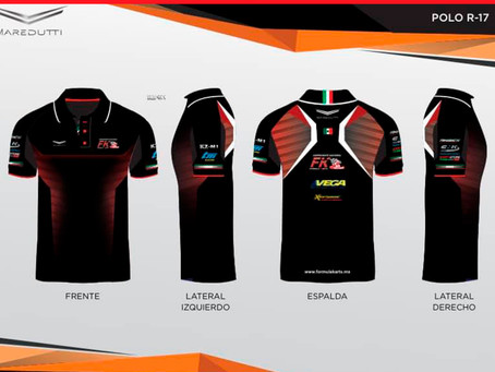 Presentación del nuevo uniforme staff Fórmula Karts 2021