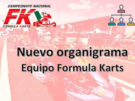 Nuevo organigrama equipo Fórmula Karts