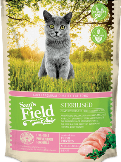 SAM'S FIELD CAT ESTERILIZADO 2.5KG