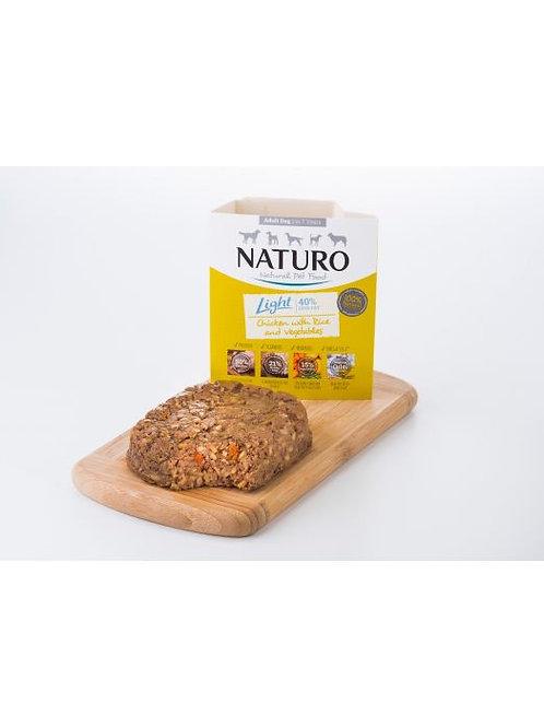 NATURO LIGHT POLLO CON ARROZ Y VERDURAS 400GR