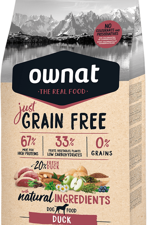 OWNAT JUST GRAIN FREE PATO