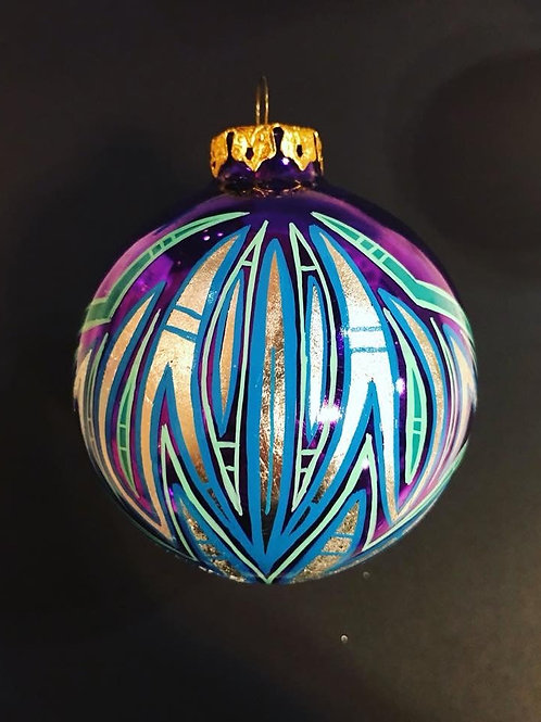 Custom Pinstripe Ornament