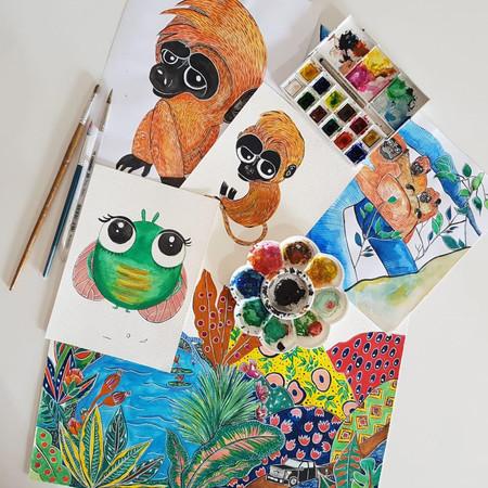 Ilustrações do livro